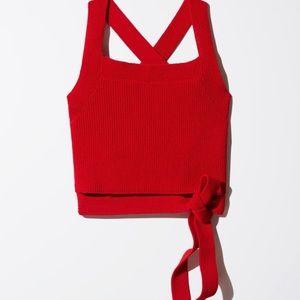 Aritzia Cayenne Knit Top